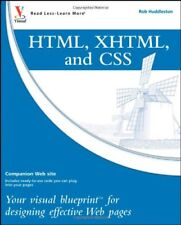 HTML, XHTML, and CSS: Your visual blueprint for de