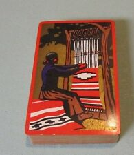 Vintage Indian Maiden Weaving A Blanket Playing Cards Deck Great Colors