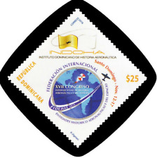 DOMINICAN REPUBLIC AERONAUTICAL AND SPACE HISTORY MNH 2018