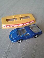Politoys M12 Abarth 2000 Pininfarina 1970