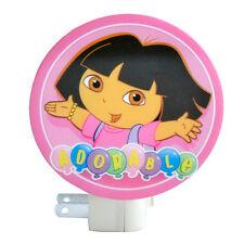 Dora the Explorer ADORABLE Decor Room Bath Safety NIGHT LIGHT Lamp w Bulb Girls