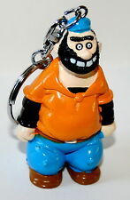 Vintage Applause PVC Figure Brutus from Popeye The Sailor Key Chain New NOS 1993