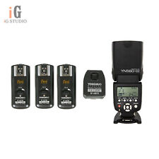 YongNuo YN560III Flash Light+RF-602 2.4GHz Wireless Remote Trigger Kit for Nikon
