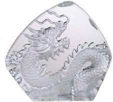 Glas Kristall Figur Drache Dragon Sammlerfigur Glasfigur chinesisch GL261