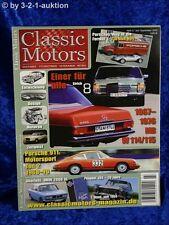Classic Motori 3/10 DB/8 W114/114 Porsche 911 BMW 2000 Tii