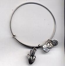 silver catstail bracelet Alex & Ani