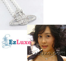 Korean drama My Girl Da Hye Vivi Orb 2 Pearl Necklace Crystal Bas Relief Choker