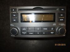 07 08 KIA RONDO RADIO CD #96140-1D1003 XX-128 *See item description*
