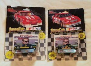 Nascar 1991 Racing Champions 1/64 Scale #2 Rusty Wallace Pontiac 2 Car Lot