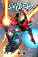 AMAZING SPIDER-MAN #6 RENAUD COSMIC GHOST RIDER VARIANT MARVEL COMICS
