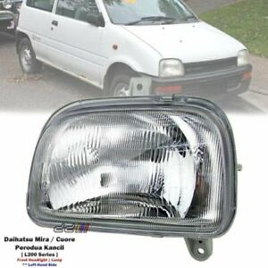 1x Front Left Headlight Lamp For Daihatsu Mira Cuore L200S L201S L210S 1993-94