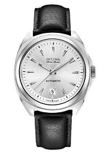 Bulova Accu-Swiss Telc 63B184 Men's Swiss Made Automatic Dress Watch $1195 NEW