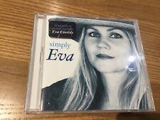 EVA CASSIDY - SIMPLY EVA - 12 ACOUSTIC TRACKS CD ALBUM - SONGBIRD / TRUE COLOURS