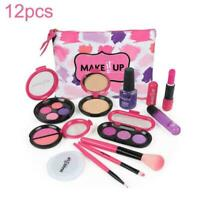 12pcs/Set girl simulated makeup toy birthday gift play house Cosmetic Toy D0K0