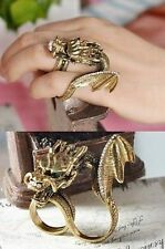 Plus Size Lingerie Fantasy Dragon Ring Gothic Fashion Accessory Costume Jewelry