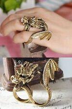 Plus Size Lingerie Fantasy Dragon Ring Gothic Fashion Accessory Costume Jewelry