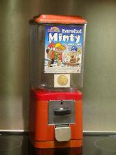 Original Kaugummiautomat, Nußautomat aus den 60/70er Jahren - 10 Cent - Metall