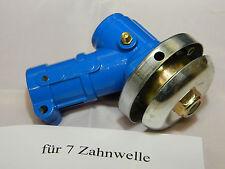Getriebe Winkelgetriebe Motorsense Freischneider 7 Zahn 26mm Rohr