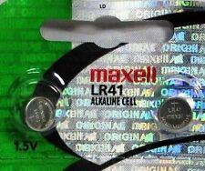 LR41 Maxell 192 (2 piece) LR41 AG3 392A 192 SR41 LR736 392 Alkaline Battery