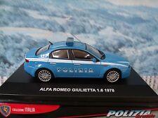 1/43 EG Edison Giocattoli  (Italy)  Alfa Romeo Giulletta 1978 Police