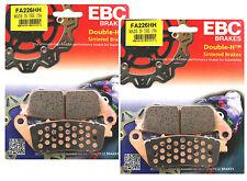 2x conjuntos Ebc Fa226 Hh Delantera Pastillas De Freno Para Triumph 675 Street Triple 2007-14