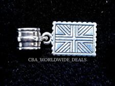 NEW Authentic PANDORA Greetings From London UK Stamp Silver Dangle Charm 791273