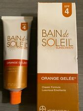 bain de soleil orange gelee