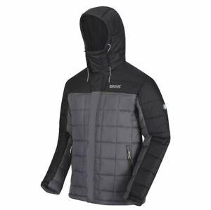Regatta Nevado IV Mens Insulated Jacket (Magnet Black) - Men's Medium Size