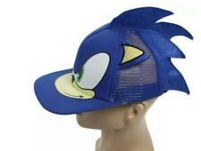 NEW kids lovely 3D Sonic the hedgehog Cartoon Youth Adjustable Baseball Hat Cap