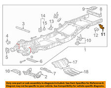 GM OEM Frame-Rear Hanger Right 20909390
