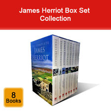 The Complete James Herriot All Creatures Great and Small Book Set 8 Books