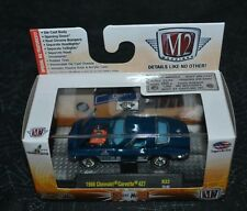 M2 MACHINES CASTLINE DETROIT MUSCLE 1966 CHEVROLET CORVETTE 427 BLUE R32