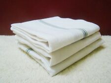 12 Handkerchief Plain White 100% Cotton Mens Hanky Handkerchiefs 42X42 Free Ship