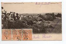 PORTUGAL Divers MILITAIRES manobras militares 1902