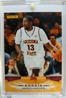 2009 09-10 Panini James Harden Rookie RC #400, Arizona State, Rockets MVP