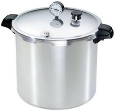 Stovetop Pressure Cooker 23 Qt. Aluminum Food Canner Water Bath Warp-Resistant