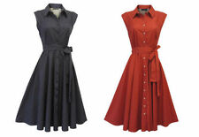 Robes vintage pour femme, en 100% coton