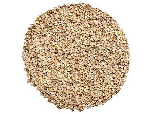 Organic Natural Sesame Seeds — Whole, White, Non-GMO, Raw, Kosher, Bulk