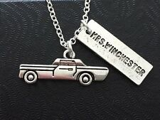Mrs Winchester Necklace, Impala, Supernatural, SPN, Dean, Sam, Fandom Gift