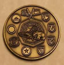 US Forces Japan - Joint Staff Office USFJ - JSO Challenge Coin