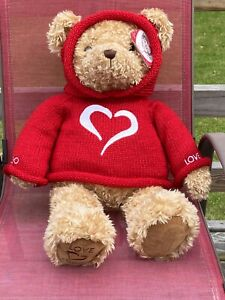 """Gund Love Bear Collectible Y2K Limited Edition Millenium Brown Large 25"""" Plush"""
