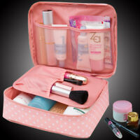 848800a4c Makeup Bag Cosmetic Neceser Zipper Man Women beauty Case Make Up Organizer  New