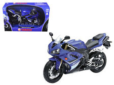 2008 YAMAHA YZF-R1 BLUE 1/12 MOTORCYCLE MODEL BY NEW RAY 43103