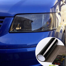 Light Black Tinting Film Car Headlights Taillight Lamp Vinyl Wrap Sticker Acces