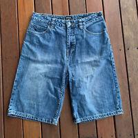 Girls Ripcurl Size 14 Denim Shorts Buller Walkshort Knee Length Casual