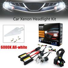 55W H4 6000K All-white HID Kit Car Xenon Light Headlight Fog Ultrathin Universal