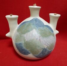 Oil Lamp Modern Ceramic Candle with 3 Wics
