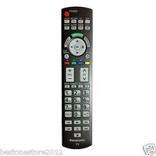 New Panasonic N2QAYB000486 Remote Control for Many 2010-11 Plasma TV with L