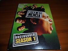Mind of Mencia - Uncensored Season 1 (DVD, 2006, 2-Disc Set) One First 1st Used