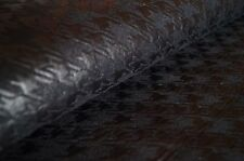 7283/003 Lederimitat Polyester Schwarz Hahnentrittmuster 0,5 x 1,4 m
